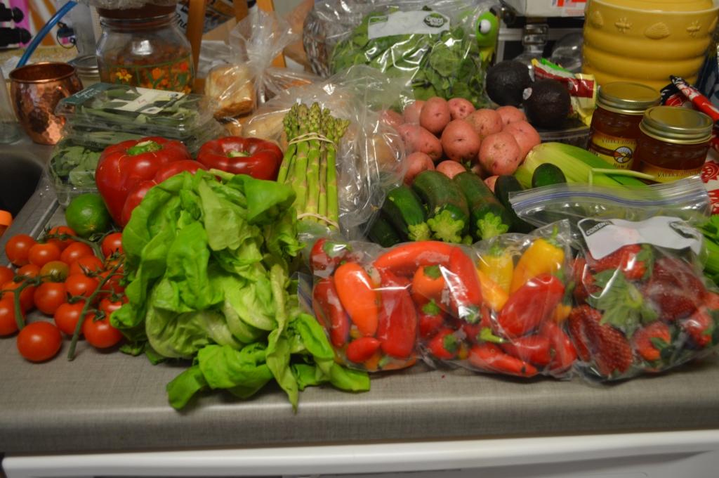 Weekly Farmer's Market Haul